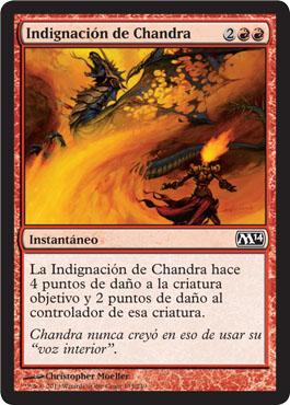 Indignación de Chandra