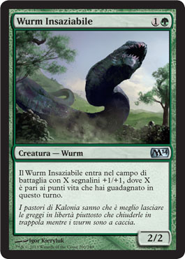 Wurm Insaziabile
