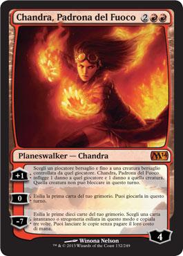 Chandra, Padrona del Fuoco