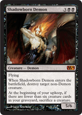 Shadowborn Demon