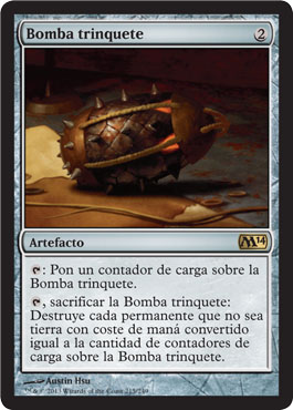 Bomba trinquete
