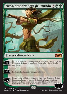 Nissa, despertadora del mundo