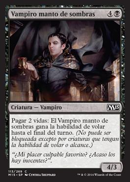 Vampiro manto de sombras