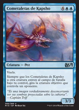 Cometaletas de Kapsho