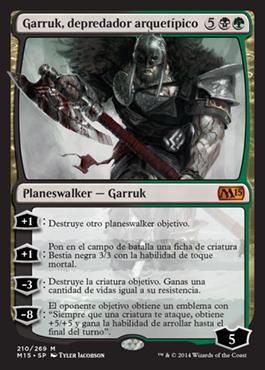 Garruk, depredador arquetípico