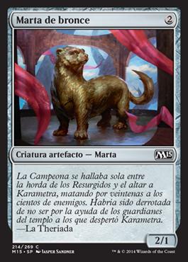 Marta de bronce