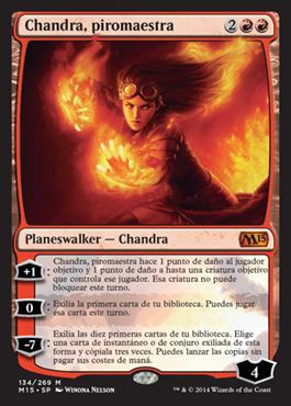 Chandra, piromaestra