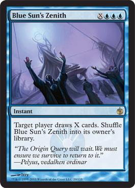 Blue Sun's Zenith
