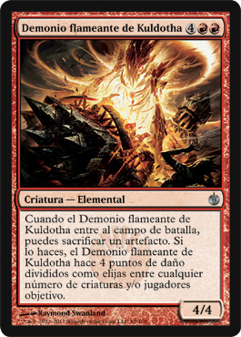 Kuldotha Flamefiend