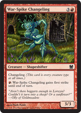 War-Spike Changeling