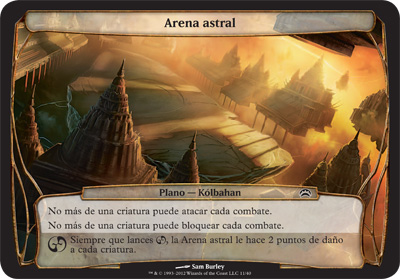 Arena astral