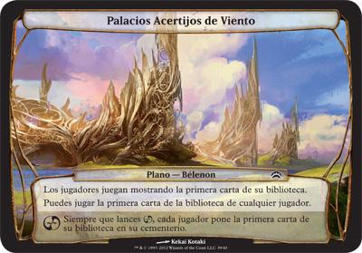 Palacios Acertijos de Viento