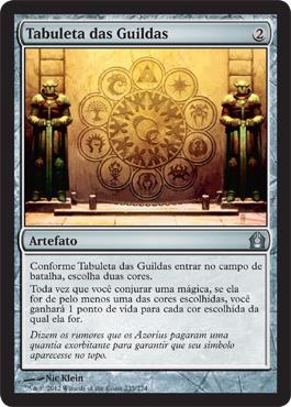Tabuleta das Guildas