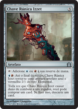 Chave Rúnica Izzet