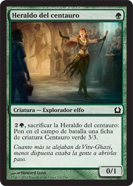 Heraldo del centauro