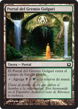 Portal del Gremio Golgari