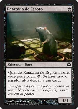 Ratazana de Esgoto