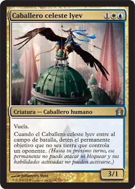 Caballero celeste lyev