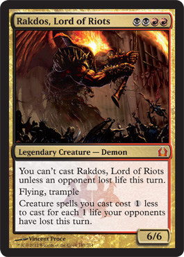 Rakdos, Lord of Riots