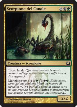 Scorpione del Canale