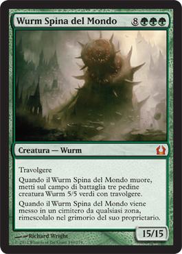 Wurm Spina del Mondo