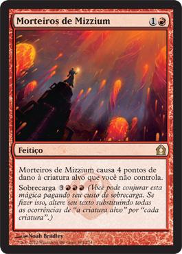 Morteiros de Mizzium