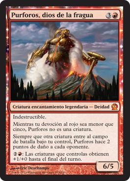 Purforos, dios de la fragua