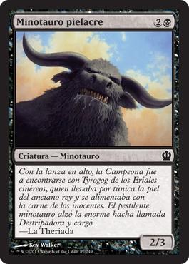 Minotauro pielacre