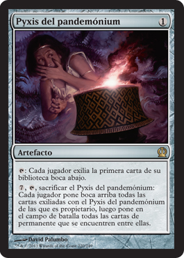 Pyxis del pandemónium