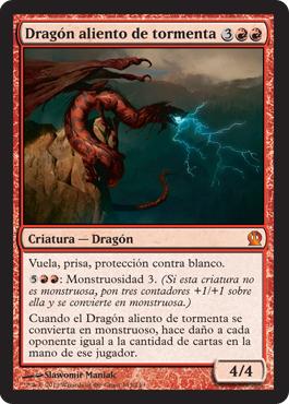 Dragón aliento de tormenta