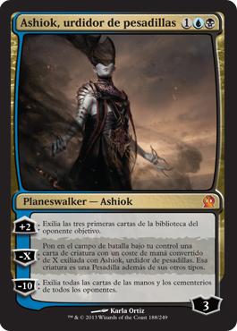Ashiok, urdidor de pesadillas