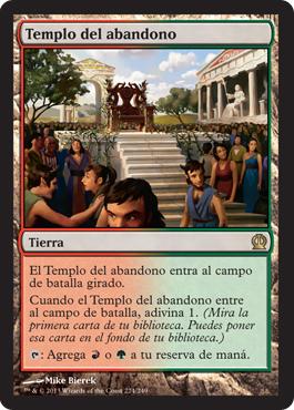 Templo del abandono
