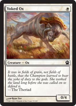 Yoked Ox