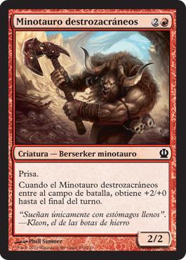 Minotauro destrozacráneos