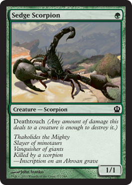 Sedge Scorpion