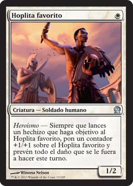Hoplita favorito