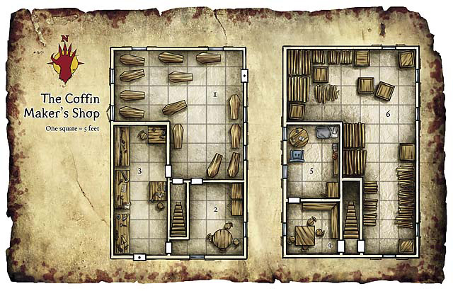 Schley stack dungeons dragons for Store layout maker