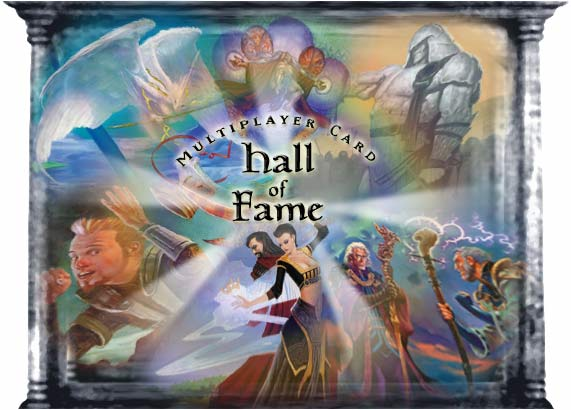 Multiplayer Card Hall of Fame