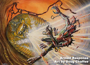 Armed Response art by Doug Chaffee