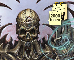 Necropotence is banned from Extended tournaments in 2000