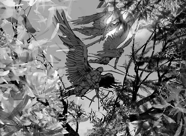 Angelic Chorus: Sketch 1