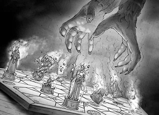 Evacuation: Sketch 3