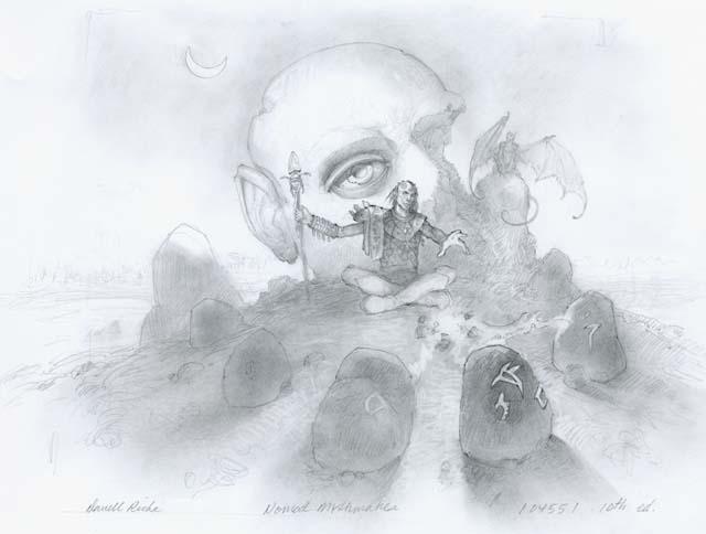 Nomad Mythmaker: Sketch 1