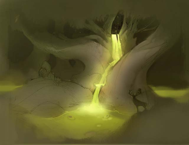 Upwelling: Sketch 1