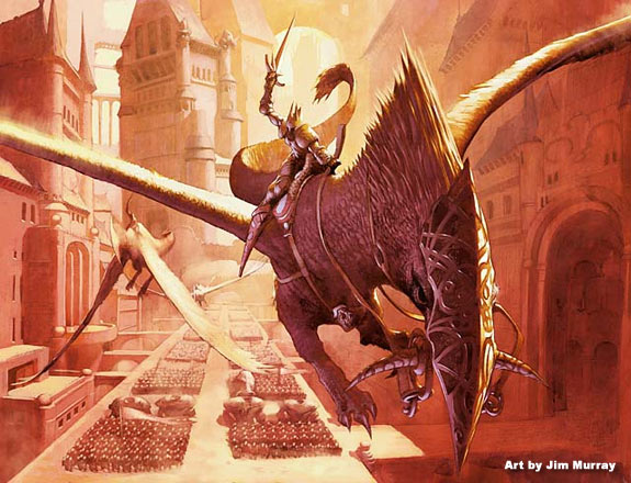 Ravnica art preview - Art by Jim Murray