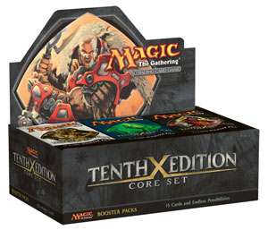 Tenth Edition Booster Display Box