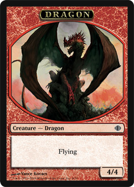 Sarkhan makes these—and so does another card in the set.
